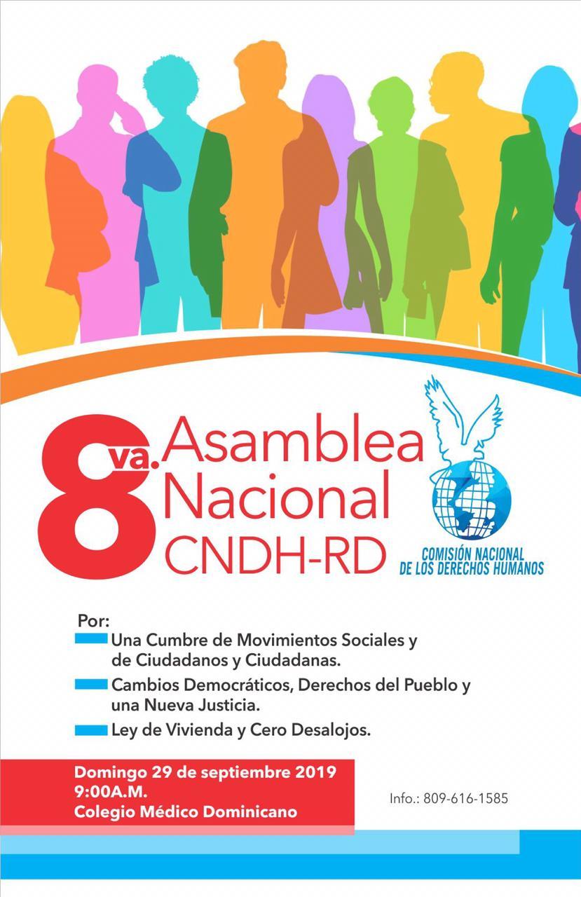afiche 8va asamblea
